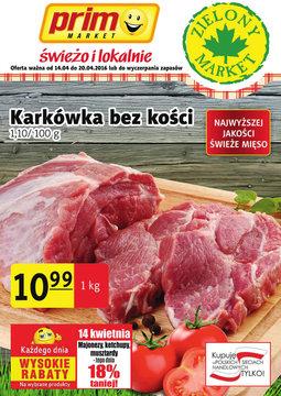 Gazetka promocyjna Prim Market, ważna od 14.04.2016 do 20.04.2016.
