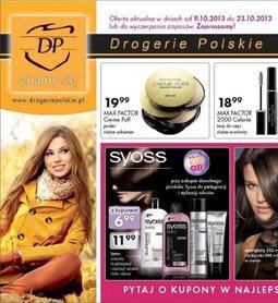 Gazetka promocyjna Drogerie Polskie, ważna od 09.10.2013 do 23.10.2013.