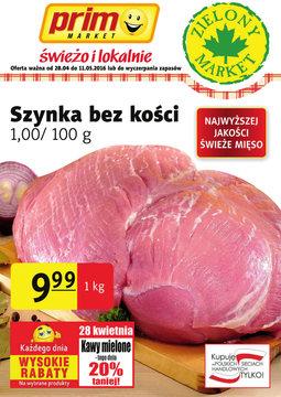 Gazetka promocyjna Prim Market, ważna od 28.04.2016 do 11.05.2016.