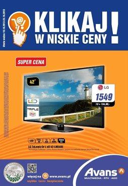 Gazetka promocyjna Avans, ważna od 10.10.2013 do 23.10.2013.