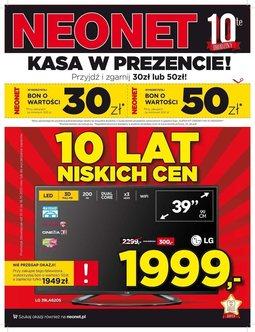 Gazetka promocyjna Neonet, ważna od 10.10.2013 do 16.10.2013.