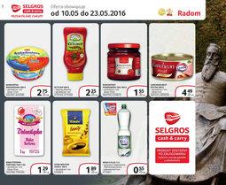 Gazetka promocyjna Selgros Cash&Carry, ważna od 10.05.2016 do 23.05.2016.