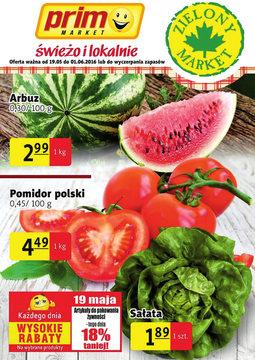 Gazetka promocyjna Prim Market, ważna od 19.05.2016 do 01.06.2016.