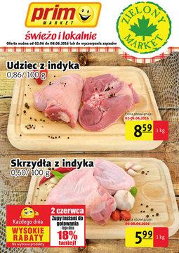 Gazetka promocyjna Prim Market, ważna od 02.06.2016 do 08.06.2016.