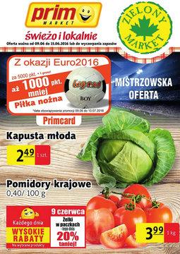 Gazetka promocyjna Prim Market, ważna od 09.06.2016 do 15.06.2016.