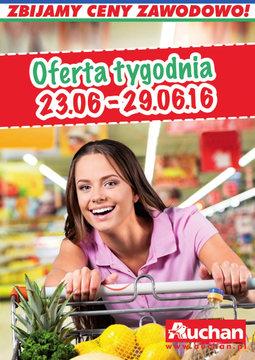 Gazetka promocyjna Auchan, ważna od 23.06.2016 do 29.06.2016.