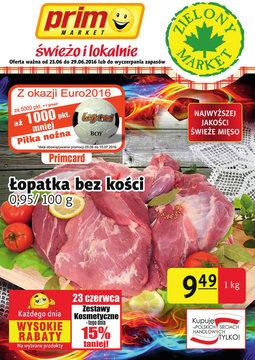Gazetka promocyjna Prim Market, ważna od 23.06.2016 do 29.06.2016.