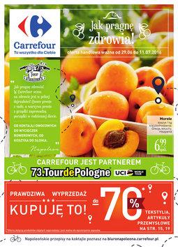 Gazetka promocyjna Carrefour, ważna od 29.06.2016 do 11.07.2016.