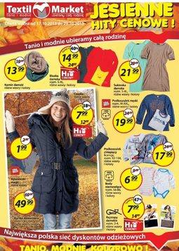 Gazetka promocyjna Textil Market, ważna od 17.10.2013 do 29.10.2013.