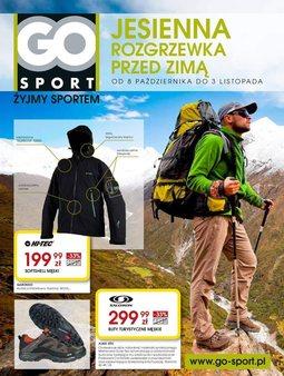 Gazetka promocyjna Go Sport, ważna od 08.10.2013 do 03.11.2013.