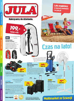 Gazetka promocyjna Jula, ważna od 08.07.2016 do 24.07.2016.