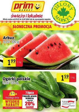 Gazetka promocyjna Prim Market, ważna od 07.07.2016 do 13.07.2016.