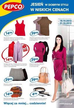 Gazetka promocyjna Pepco, ważna od 18.10.2013 do 31.10.2013.