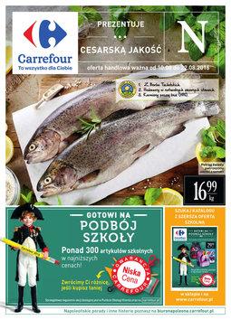 Gazetka promocyjna Carrefour, ważna od 10.08.2016 do 22.08.2016.