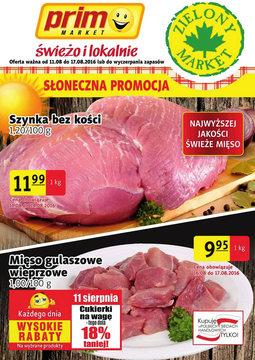 Gazetka promocyjna Prim Market, ważna od 11.08.2016 do 17.08.2016.