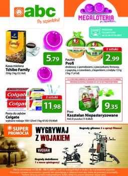 Gazetka promocyjna ABC, ważna od 23.10.2013 do 03.11.2013.