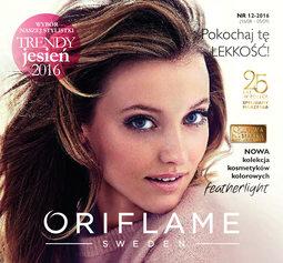 Gazetka promocyjna Oriflame, ważna od 16.08.2016 do 05.09.2016.