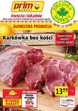 Gazetka promocyjna Prim Market, ważna od 25.08.2016 do 31.08.2016.