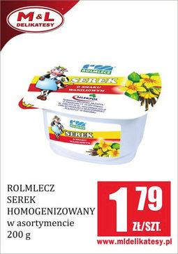 Gazetka promocyjna M&L Delikatesy, ważna od 26.08.2016 do 01.09.2016.