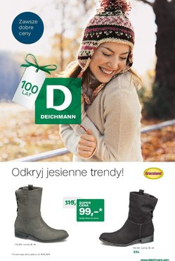 Gazetka promocyjna Deichmann, ważna od 16.10.2013 do 18.03.2014.