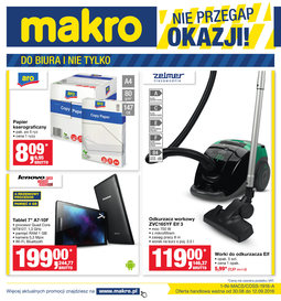 Gazetka promocyjna Makro Cash&Carry, ważna od 30.08.2016 do 12.09.2016.