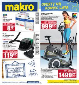 Gazetka promocyjna Makro Cash&Carry, ważna od 31.08.2016 do 12.09.2016.