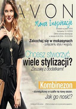 Gazetka promocyjna Avon, ważna od 08.09.2016 do 19.10.2016.