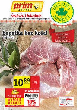 Gazetka promocyjna Prim Market, ważna od 15.09.2016 do 21.09.2016.