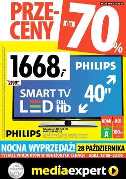 Gazetka promocyjna Media Expert, ważna od 24.10.2013 do 29.10.2013.