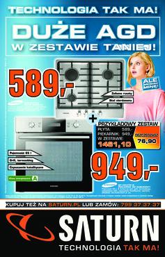 Gazetka promocyjna Saturn, ważna od 24.10.2013 do 30.10.2013.