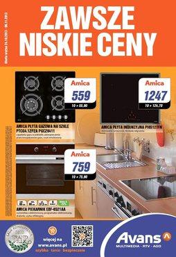 Gazetka promocyjna Avans, ważna od 24.10.2013 do 06.11.2013.