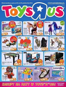 """Gazetka promocyjna Toys""""R""""Us, ważna od 24.10.2013 do 30.10.2013."""