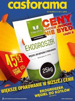 Gazetka promocyjna Castorama, ważna od 25.10.2013 do 10.11.2013.