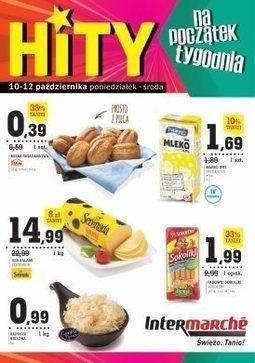 Gazetka promocyjna Intermarche Super, ważna od 10.10.2016 do 12.10.2016.