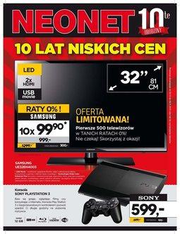 Gazetka promocyjna Neonet, ważna od 30.10.2013 do 06.11.2013.