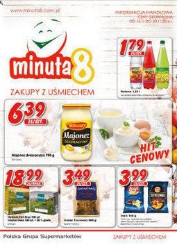Gazetka promocyjna Minuta 8, ważna od 14.11.2016 do 20.11.2016.