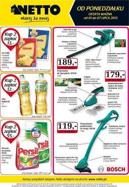 Gazetka promocyjna Netto, ważna od 01.07.2013 do 07.07.2013.