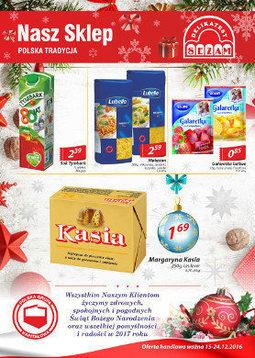 Gazetka promocyjna Nasz Sklep, ważna od 15.12.2016 do 24.12.2016.