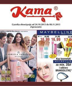 Gazetka promocyjna Kama Beauty, ważna od 24.10.2013 do 08.11.2013.