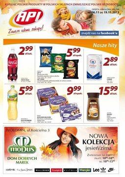 Gazetka promocyjna Api Market, ważna od 06.11.2013 do 19.11.2013.