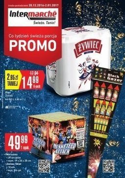 Gazetka promocyjna Intermarche Super, ważna od 28.12.2016 do 02.01.2017.