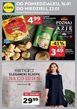 Gazetka promocyjna Lidl, ważna od 16.01.2017 do 22.01.2017.