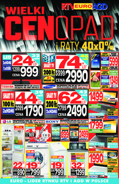 Gazetka promocyjna RTV EURO AGD, ważna od 07.11.2013 do 31.12.2013.