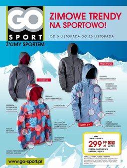 Gazetka promocyjna Go Sport, ważna od 05.11.2013 do 25.11.2013.