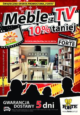 Gazetka promocyjna Forte, ważna od 15.11.2013 do 24.12.2013.