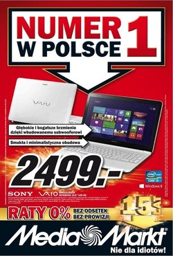 Gazetka promocyjna Media Markt, ważna od 15.11.2013 do 21.11.2013.