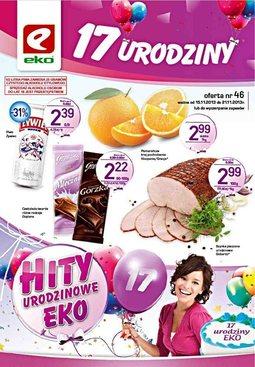 Gazetka promocyjna EKO, ważna od 15.11.2013 do 21.11.2013.