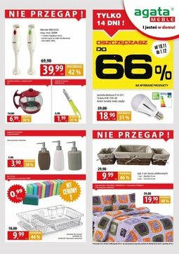 Gazetka promocyjna Agata , ważna od 18.11.2013 do 01.12.2013.