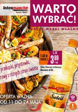 Gazetka promocyjna Intermarche Super, ważna od 11.05.2017 do 24.05.2017.