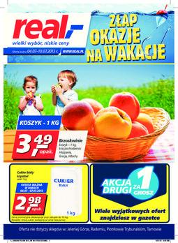 Gazetka promocyjna Real, ważna od 04.07.2013 do 10.07.2013.